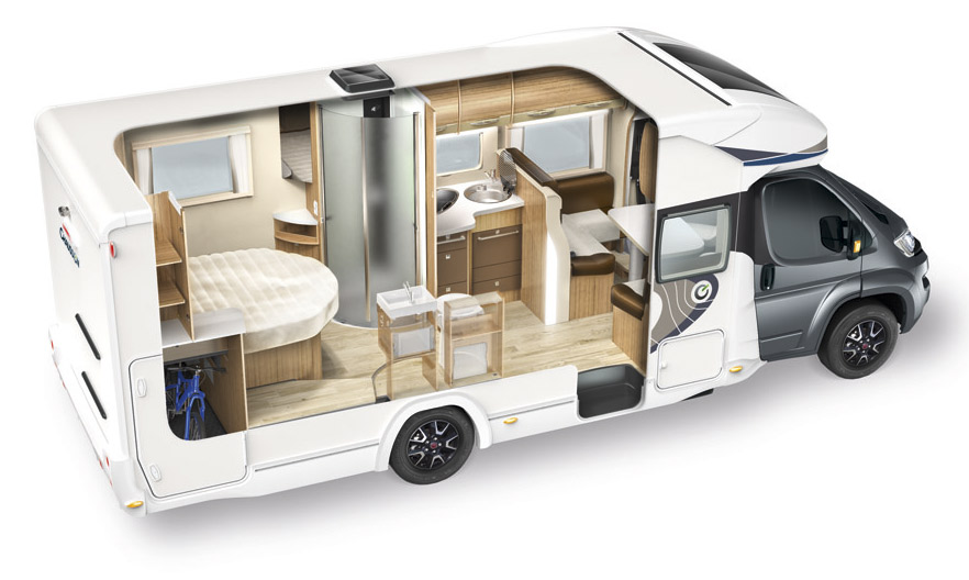 L am nagement int rieur chausson for Amenagement interieur camping car