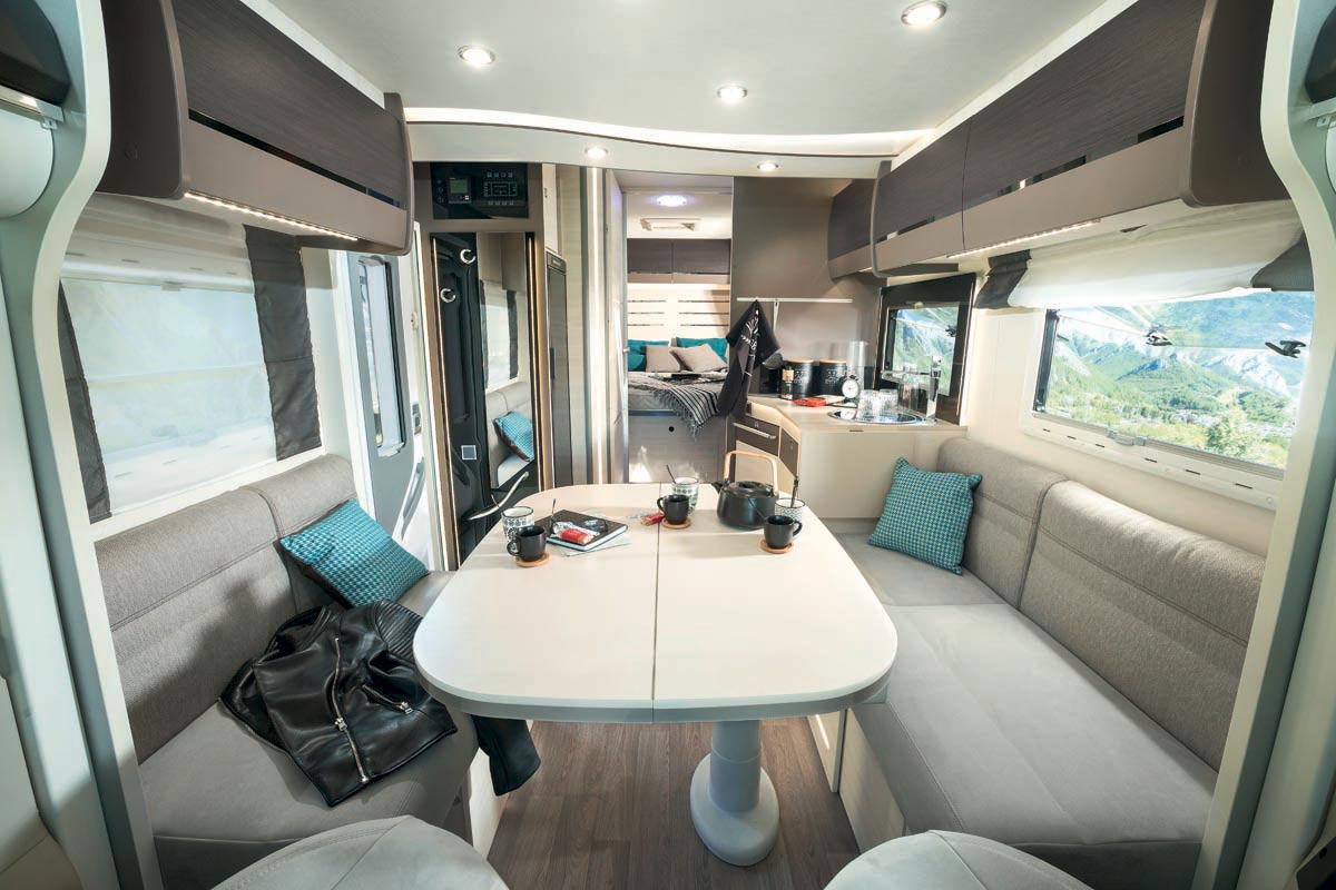 Chausson motorhomes the proper balance between equipment and price - Camping car chausson sweet garage ...
