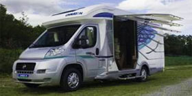 Camping-car Chausson Panoramic System