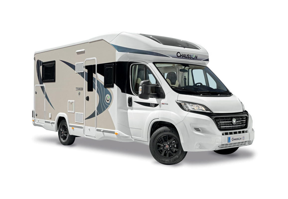 Chausson low profile motorhomes